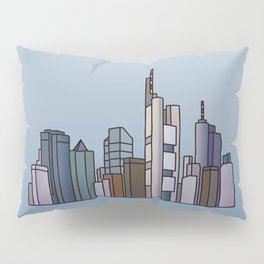 Frankfurt skyline Pillow Sham
