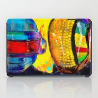 archan nair iPad Cases featuring Daft Punk by Archan Nair