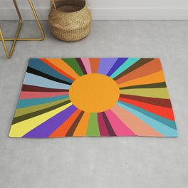 technicolor dream 003 Rug