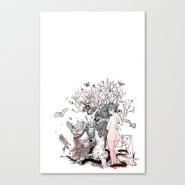 Lilith tastes. Canvas Print