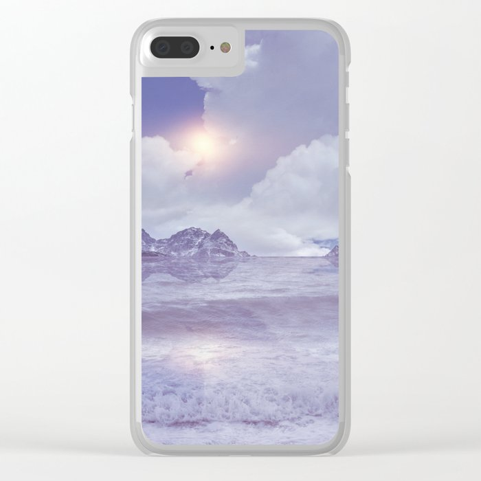 Magic in the Clouds IV Clear iPhone Case