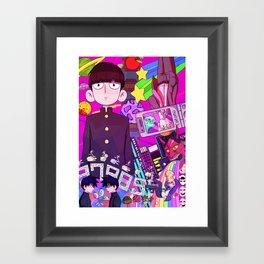 Mob Psycho 100 Framed Art Print
