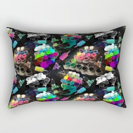 Tattoo ink and machines Rectangular Pillow
