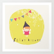 Fairy Kisses Art Print