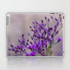 Purple Wildflowers Laptop & iPad Skin
