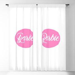 Barbie Pink Blackout Curtain