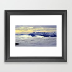 The Valley Framed Art Print