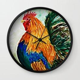 Cock-a-doodle-do! Wall Clock
