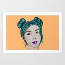 Candy Girl 2 Art Print