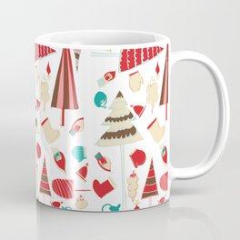 Vintage Christmas white Coffee Mug