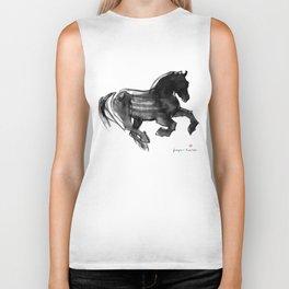 Horse (Devil cantering) Biker Tank