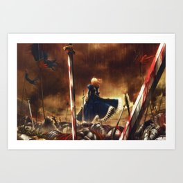 fate stay night battlegrounds Art Print