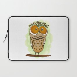 Crazy Owl Laptop Sleeve