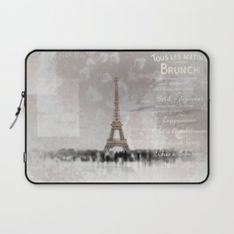 PARIS Collage Laptop Sleeve