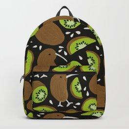 Kiwis & Kiwis – Charcoal Palette Backpack