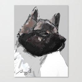 Akita Canvas Print