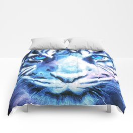White Tiger   Snow Tiger   Tiger Face   Space Tiger Comforters