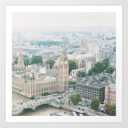 London Skyline Travel Photography Art Print