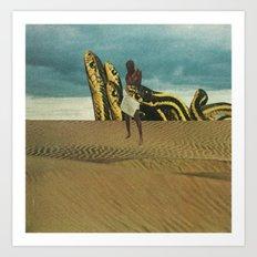 Sandsnakes Art Print