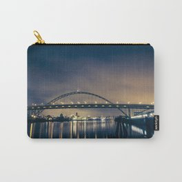 Fremont Bridge at Night Carry-All Pouch