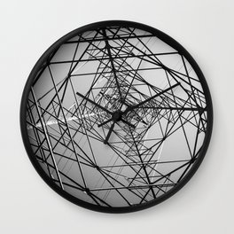 Electric Pole Wall Clock