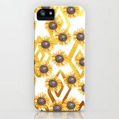 Golden Sunflowers Slim Case iPhone SE
