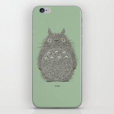 Green Totoro iPhone Skin