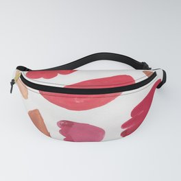 38    | 190408 Red Abstract Watercolour Fanny Pack