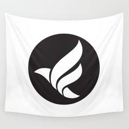 LFN b&w logo Wall Tapestry