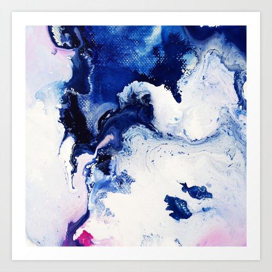 Riveting Abstract Watercolor Painting Art Print by Mari ... - photo #39