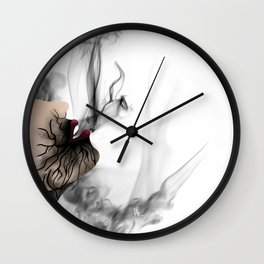 Smokingirl Wall Clock