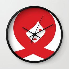 TREAT EQUALLY Wall Clock