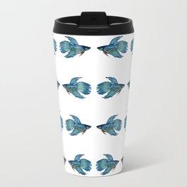 Kissing Betta Fish Travel Mug