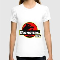 monsters inc T-shirts featuring Monsters, Inc Logo.  by Gary Wood