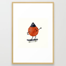 Skater Buoy Framed Art Print