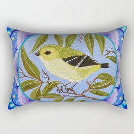 40-spotted Pardalote Rectangular Pillow