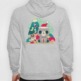 Holiday Woodland Bear / Cute Animal Hoody