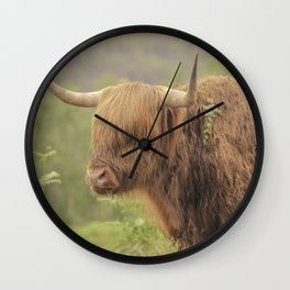 'Hamish' The Highland Cow Wall Clock