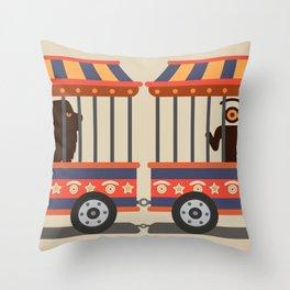 circus l.eye.on Throw Pillow