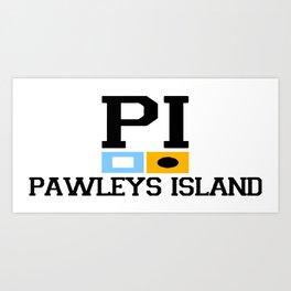 Pawleys Island - South Carolina. Art Print