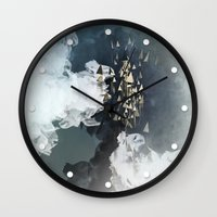 flight Wall Clocks featuring flight by Rafael Igualada