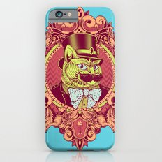 Hipster Mustache Cat Slim Case iPhone 6s