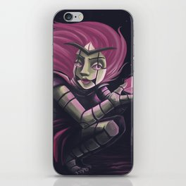 Lila android iPhone Skin