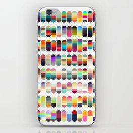 Palette color 100 iPhone Skin