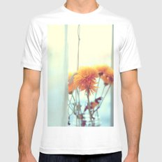 She'll Let You In Mens Fitted Tee MEDIUM White