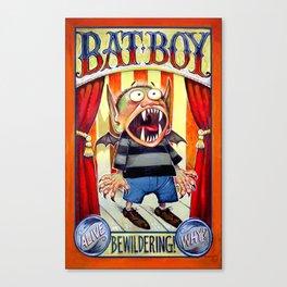 Bat Boy Canvas Print