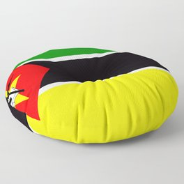 Flag of Mozambique Floor Pillow