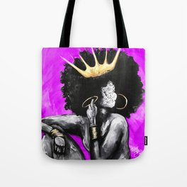 Naturally Queen VI PINK Tote Bag
