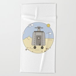 Pepelats. Russian science fiction. Beach Towel