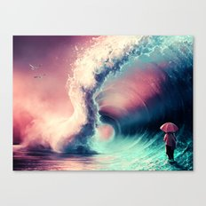 Cross over together Canvas Print